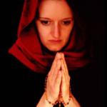 Lady-praying